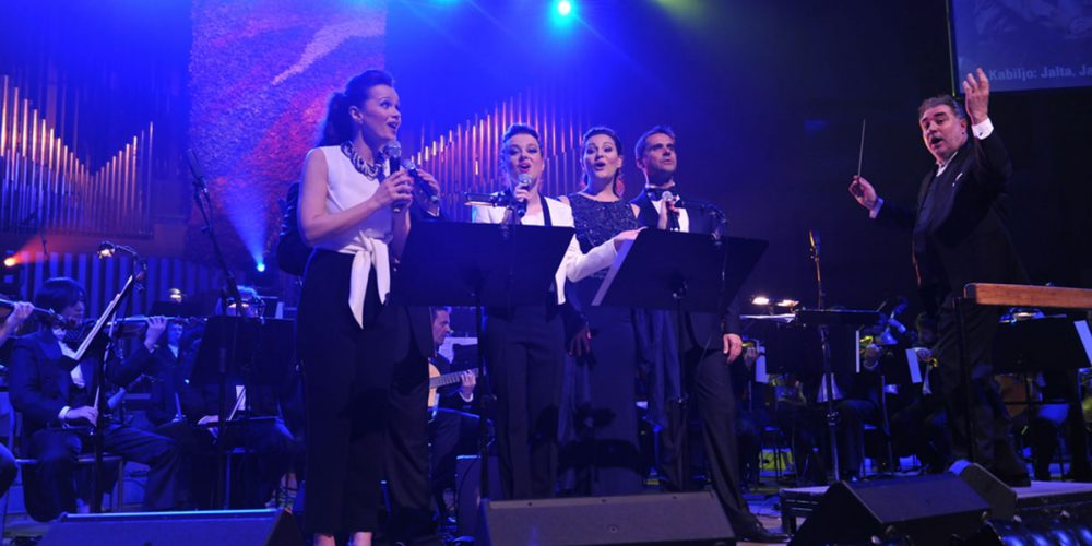 Charity concert of the Zagreb Philharmonic Orchestra and soprano Sandra Bagaric with friends